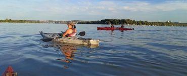 Туры на каяках в Белграде по рекам Дунай и Сава